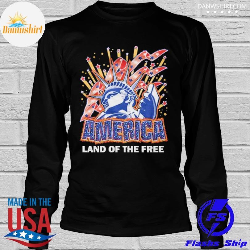 America land of the free longleeve