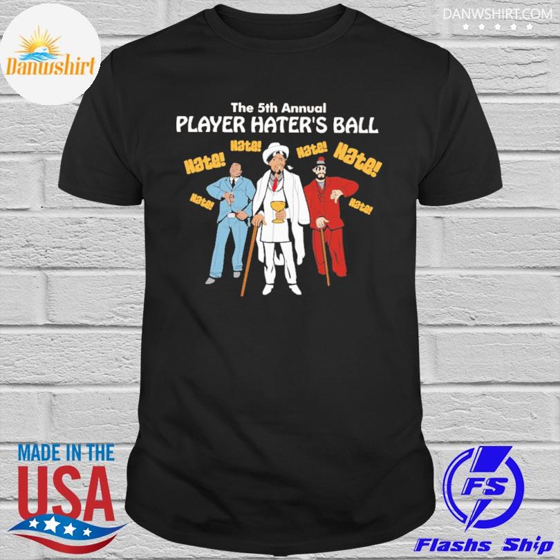 Bohemian dave the 5th annual player haters ball shirt