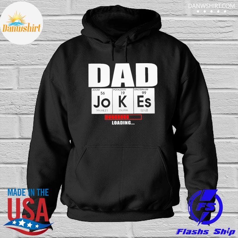 Dad jokes loading Hoodied