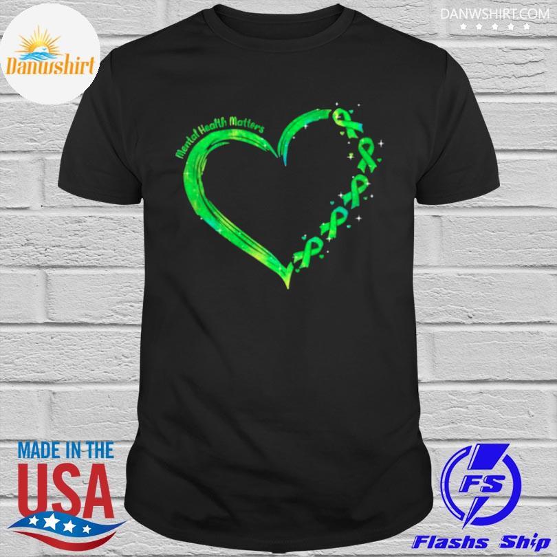 Heart mental health matters shirt