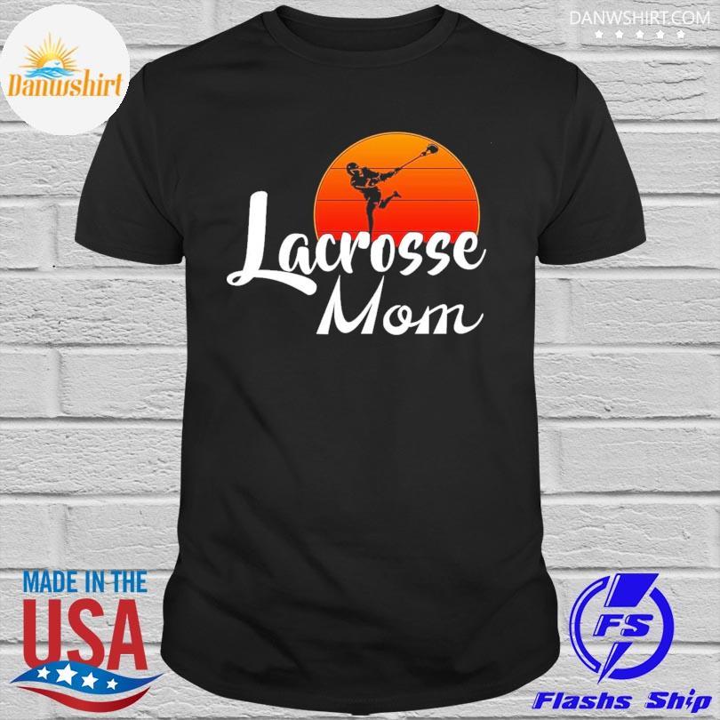 Lacrosse Mom sunset shirt