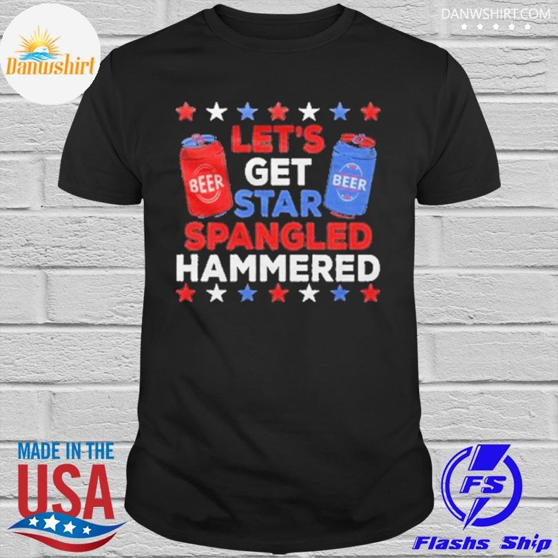 Let's get star spangled hammered shirt