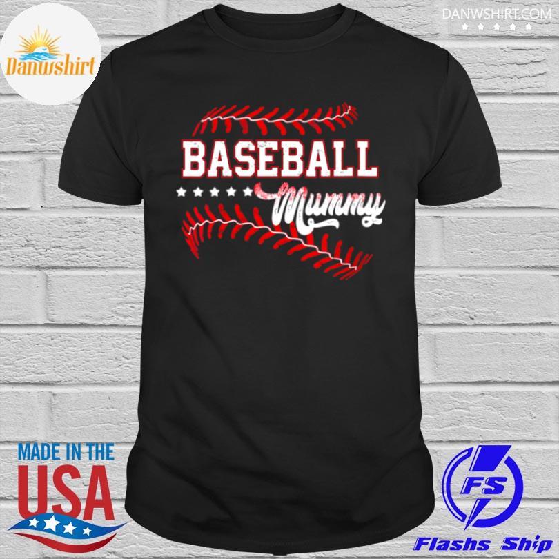 Official Baseball mummy baseball mummy mothers day shirt