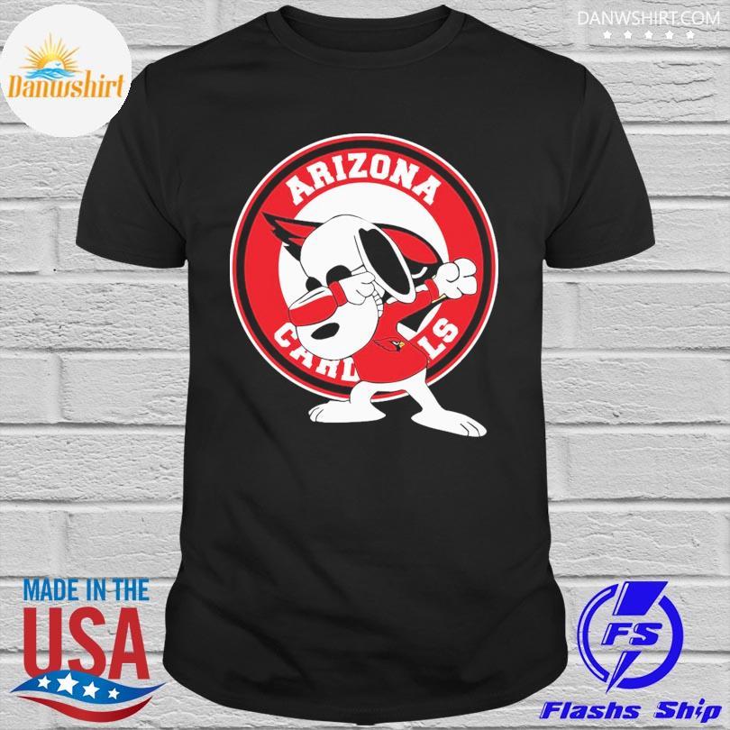 Official Dabbing Snoopy Arizona Cardinals shirt