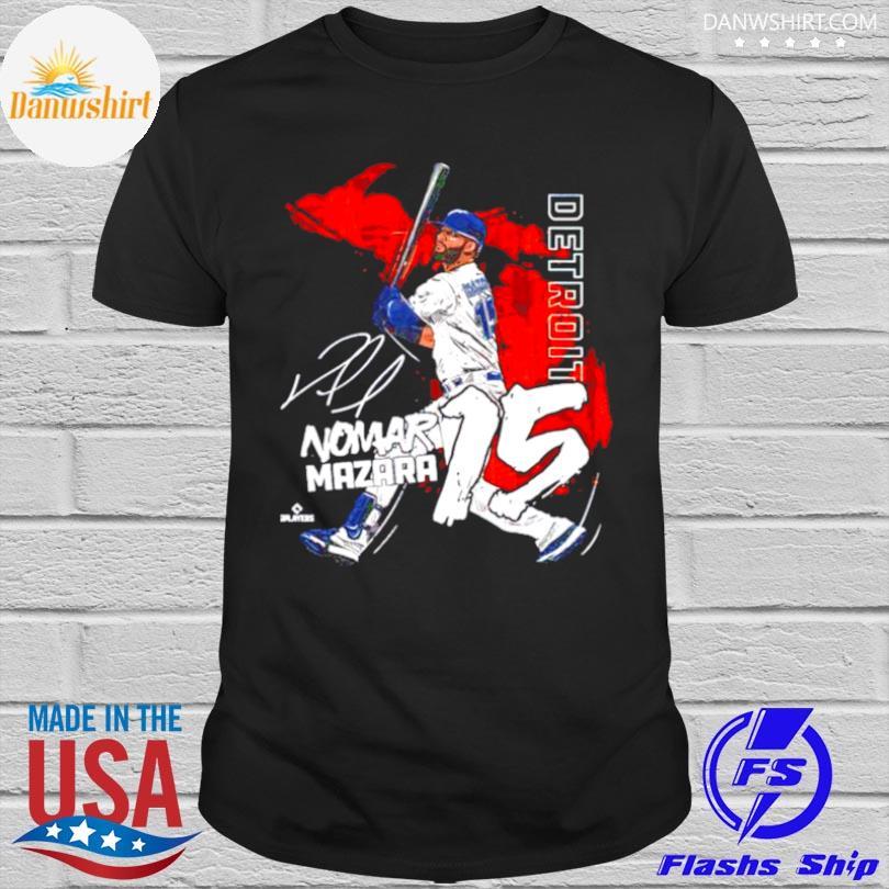 Official Detroit baseball nomar mazara signature shirt
