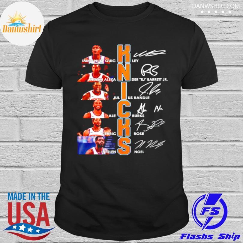 Official Knicks best players signature shirt