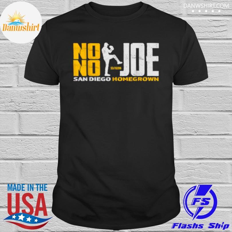 Official No no joe san diego joe homegrown baseball shirt