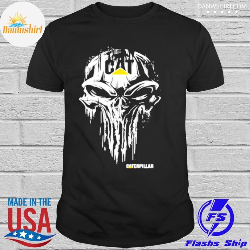 Official Punisher with caterpillar logo shirt