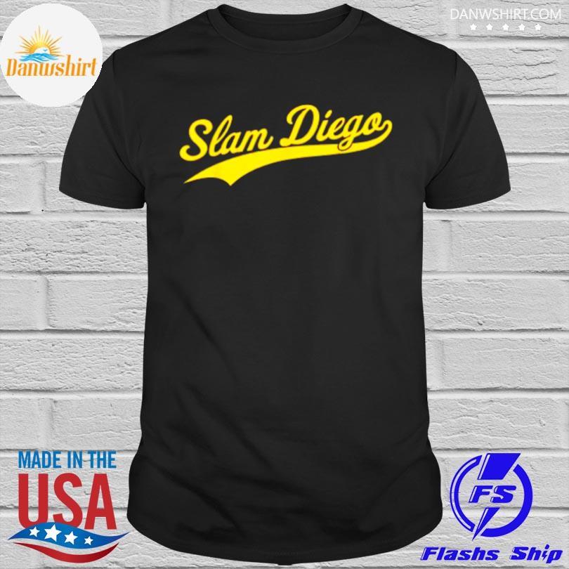 Official San diego sd slam diego script shirt