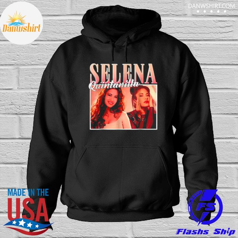 Official Selenas quintanilla love music 80s 70s Hoodied