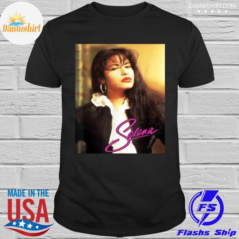 Official Selenas quintanilla love signature shirt
