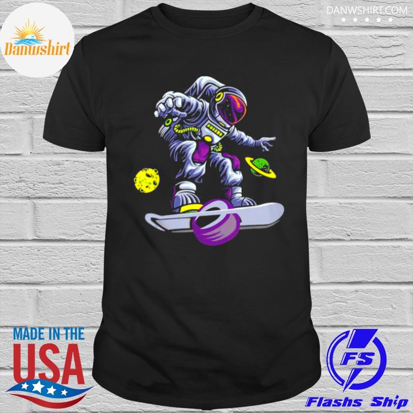 Official Skating astronaut on onewheel shirt