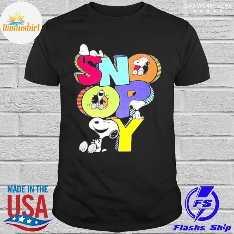 Official Snoopy cute shirt