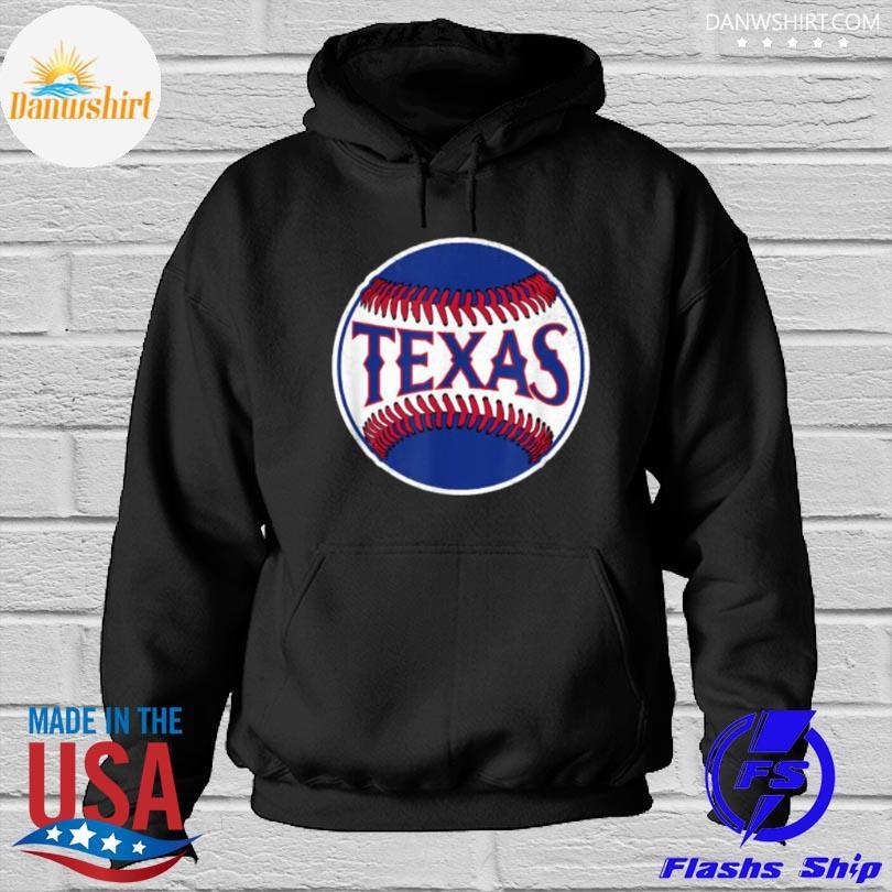 Official Texas baseball tx vintage Hoodied