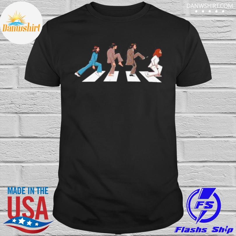 Official The Beatles abbey road 2021 shirt