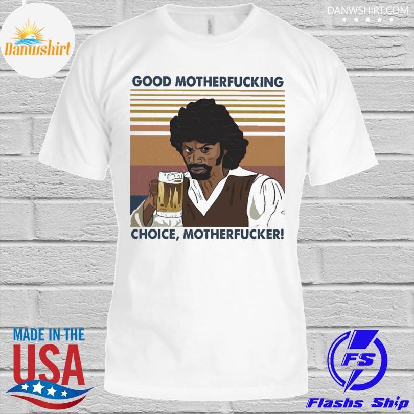 Rick James good motherfucking choice motherfucker vintage shirt