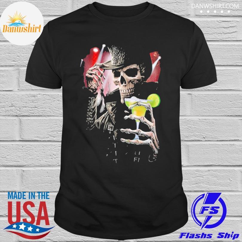 Skeleton hello darkness my old friend shirt