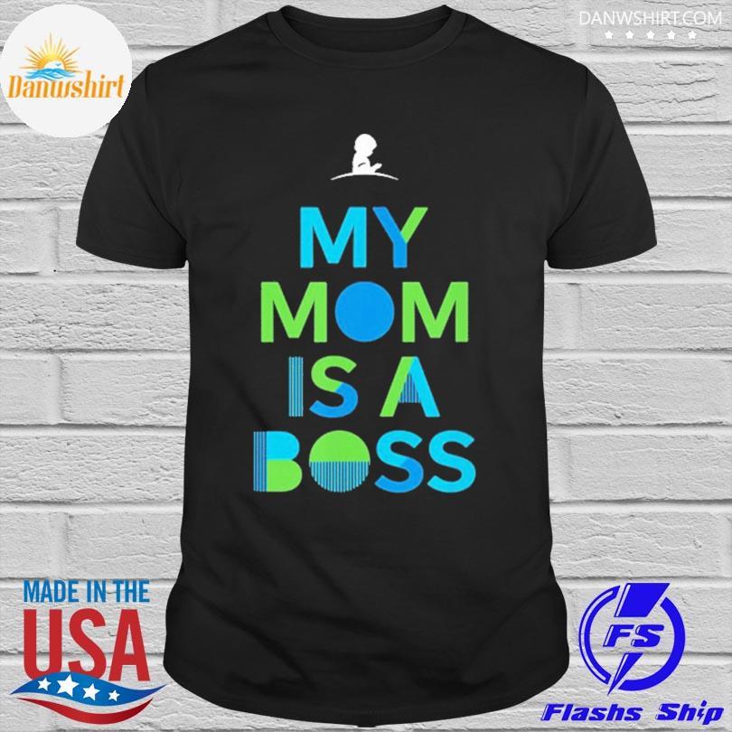 St jude my mom is a boss shirt