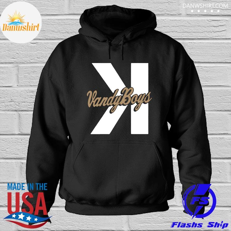 Official Vanderbilt Baseball Vandy Boys Backwards K Shirt Hoodied