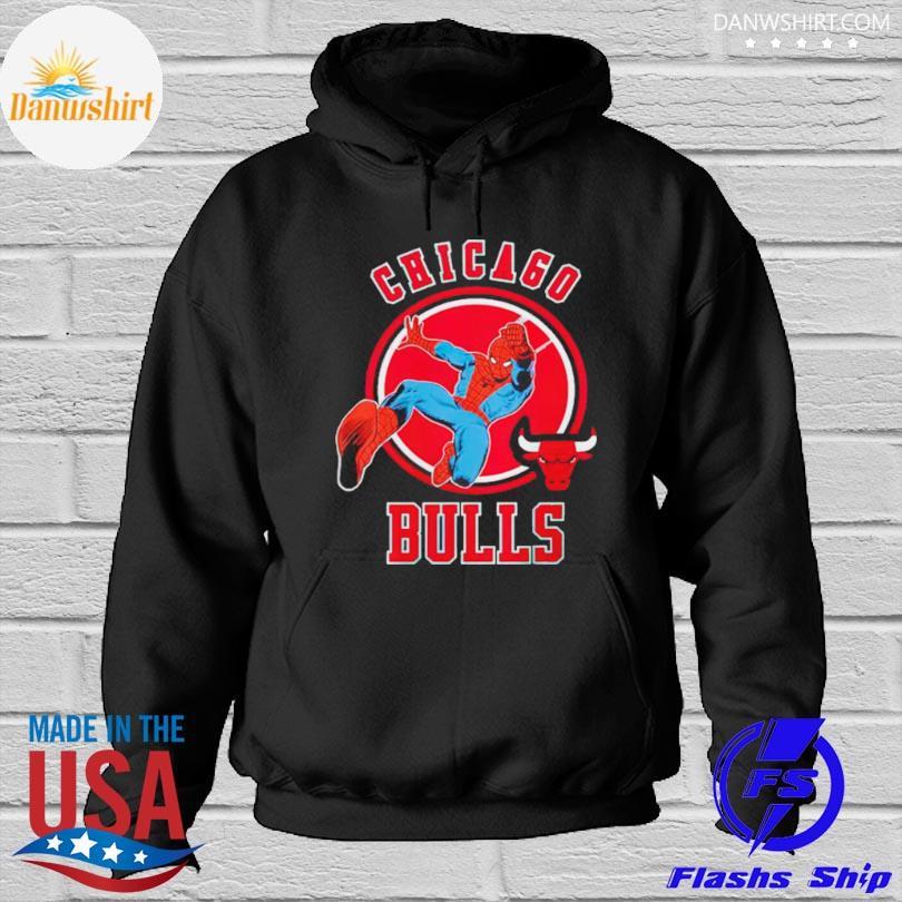 Chicago bulls logo Hoodied