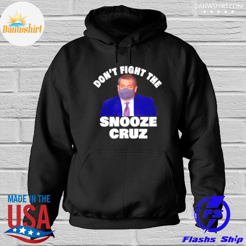 Don't fight the snooze cruz red Hoodied