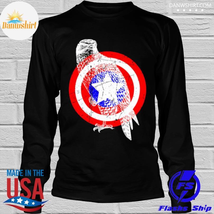 Falcon america distressed captain gear shirt