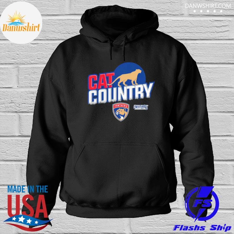 Florida panthers stanley cup cat country Hoodied