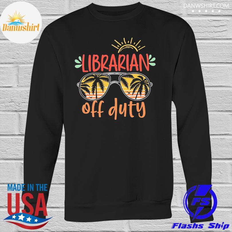 Librarian off duty vintage sweatshirt