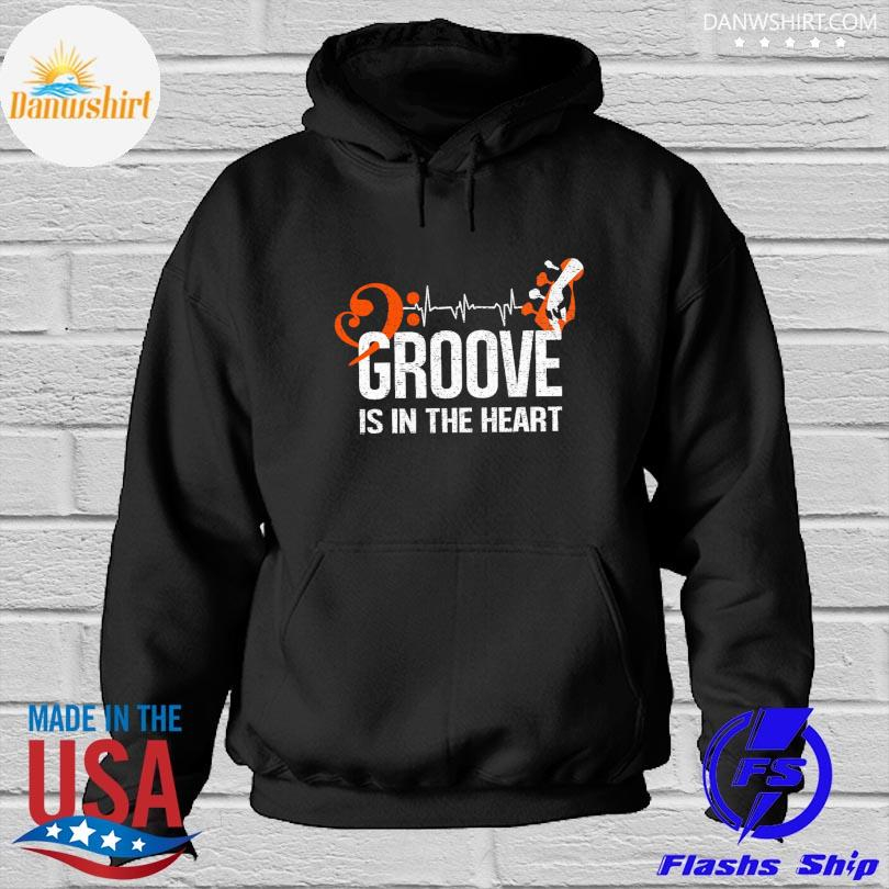 Official Groove is in the heart Hoodied