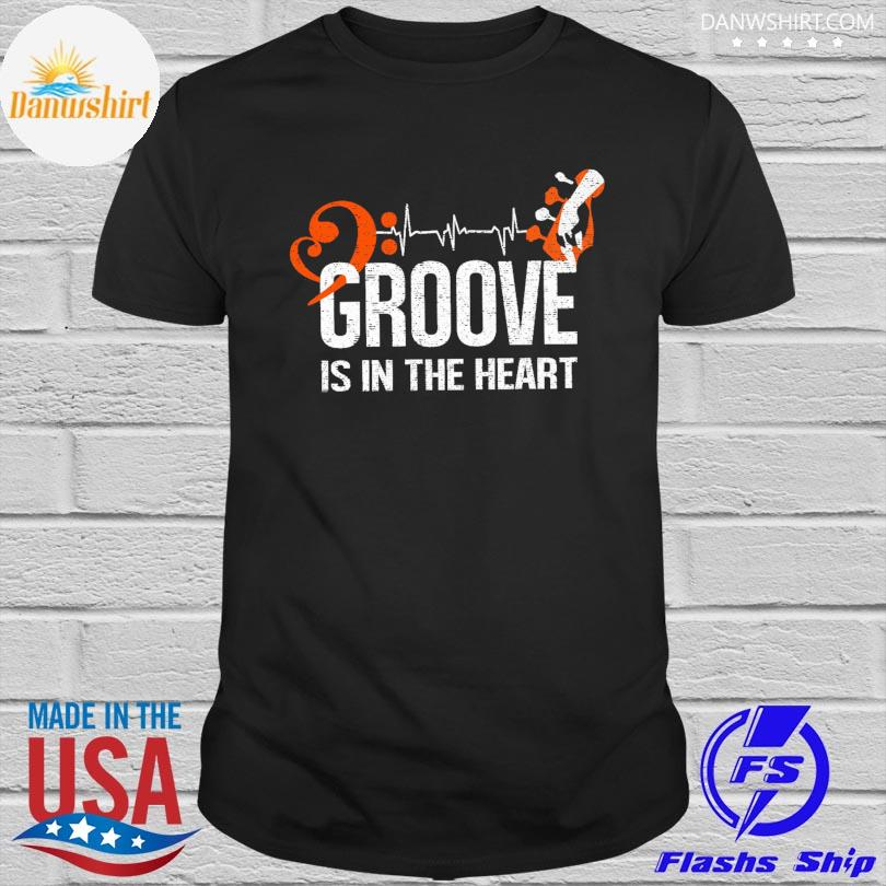 Official Groove is in the heart shirt