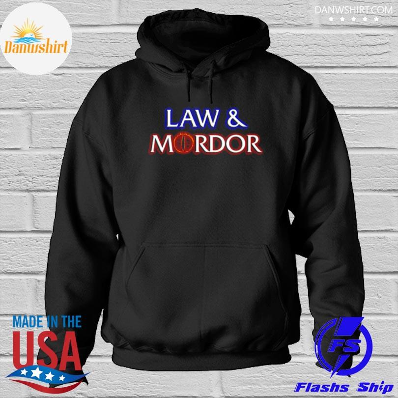 Official Law and mordor 2021 Hoodied