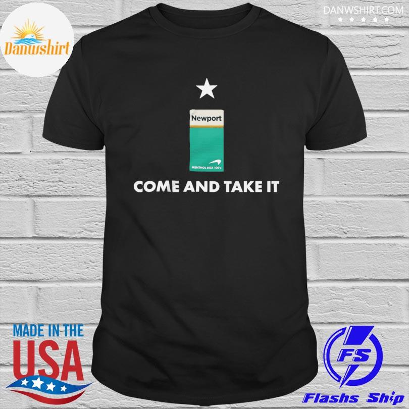 Official Newport come and take it shirt