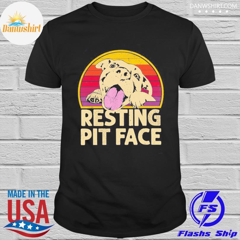 Official Resting pit face vintage shirt