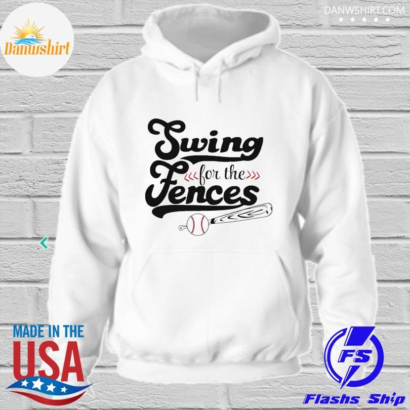 Official Swing for the fence hoodied