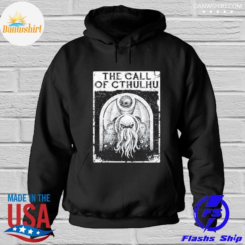 Official The call of cthulhu Hoodied