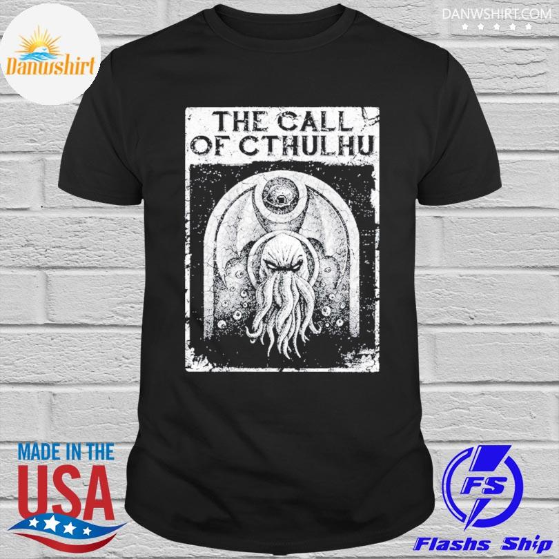 Official The call of cthulhu shirt
