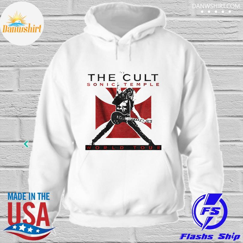 Official The cult sonic temple world tour hoodied