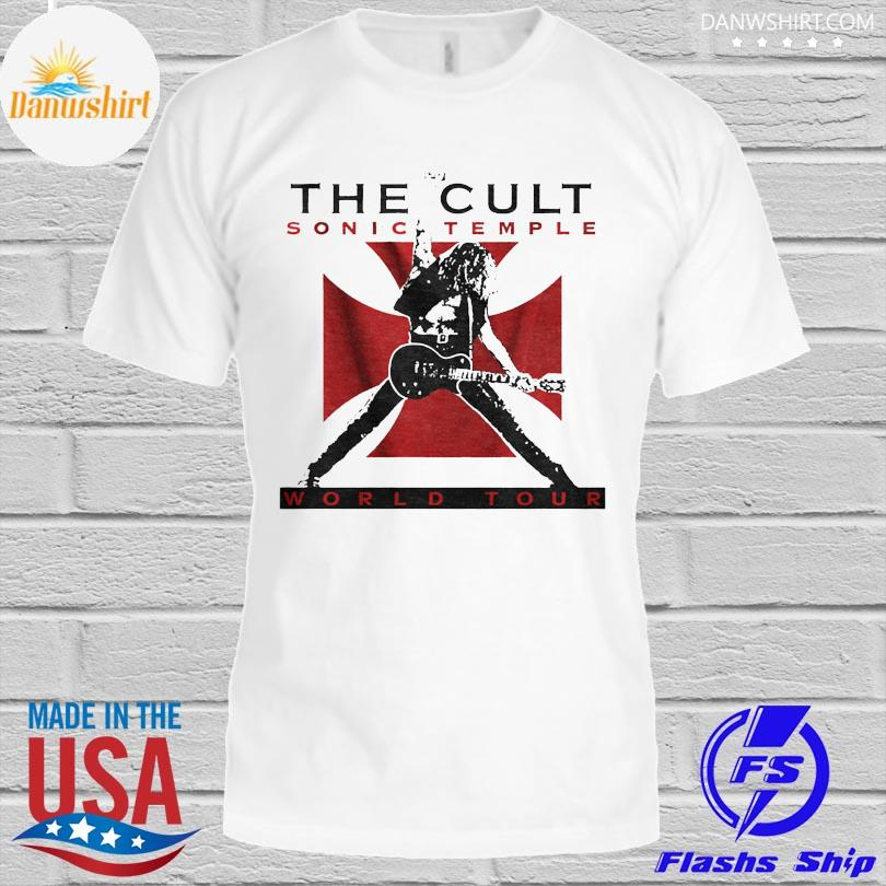Official The cult sonic temple world tour shirt