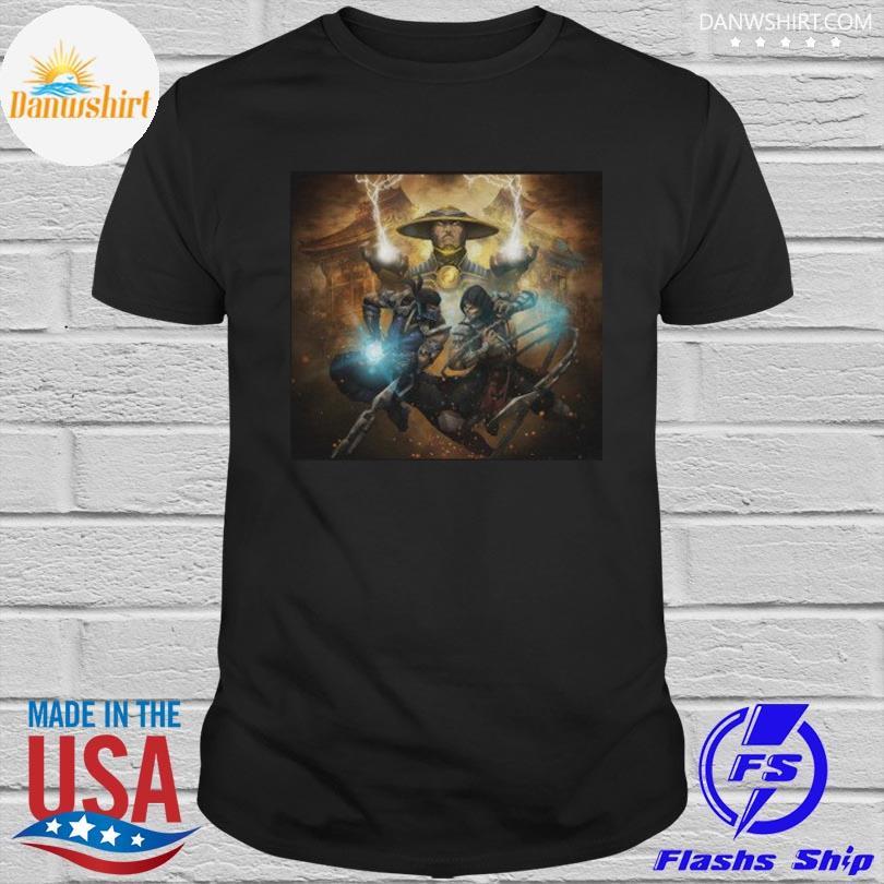 Raiden subzero scorpion mortal kombat shirt