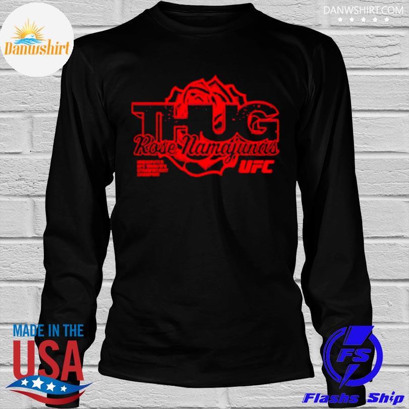 Rose namajunas merch thug rose strawweight champion shirt