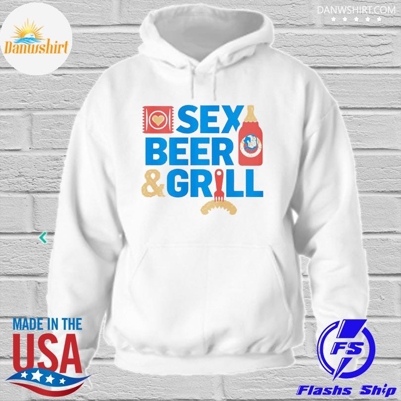 Sex Beer and girl hoodied