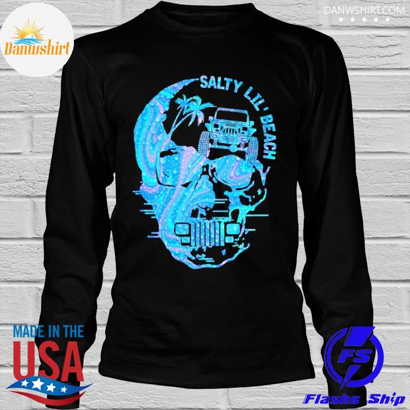 Skull salty lil' beach shirt