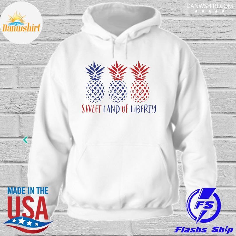 Sweet land of liberty hoodied
