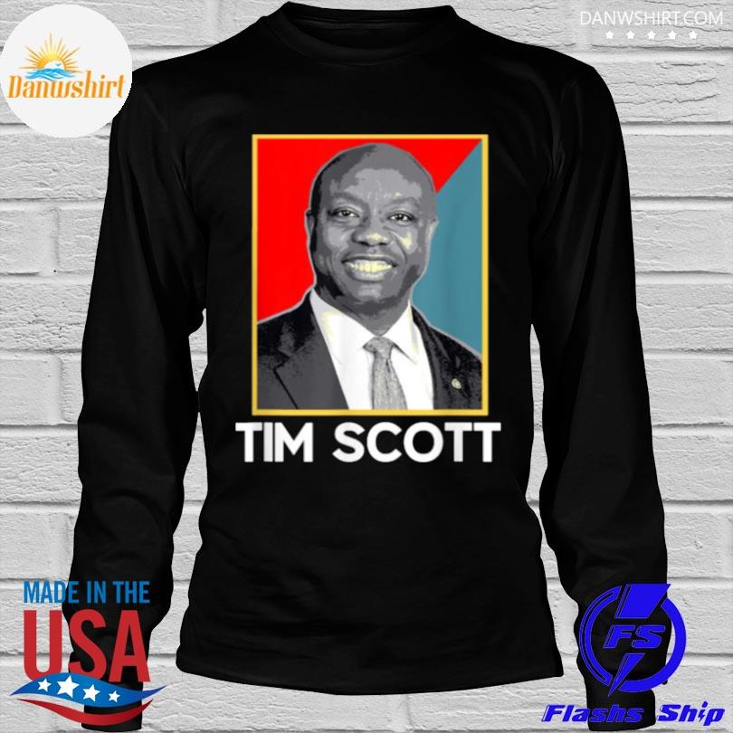 Tim scott 2024 for president election shirt