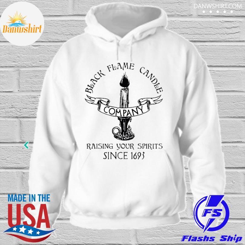 black flame candle company s hoodied