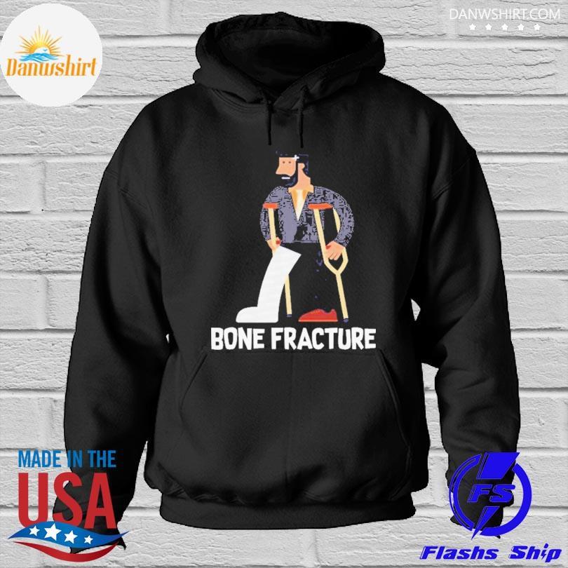 Broken Fracture s Hoodied
