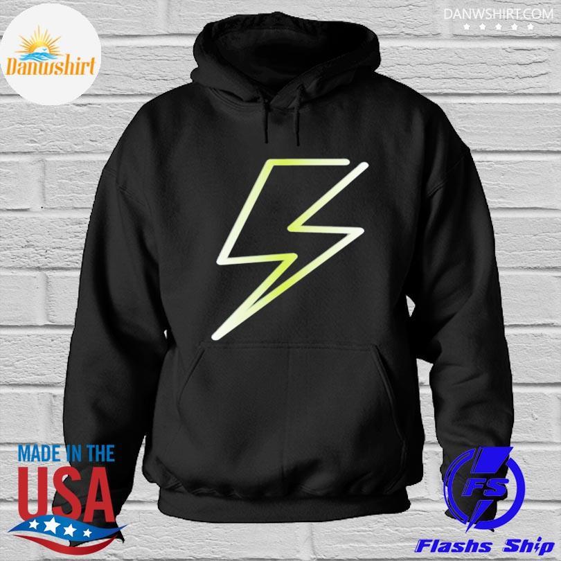 Lightning bolt print hero design s Hoodied