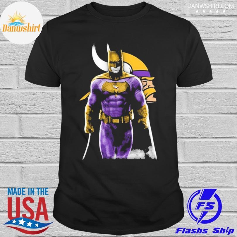 Minnesota Vikings Batman Bruce Wayne shirt
