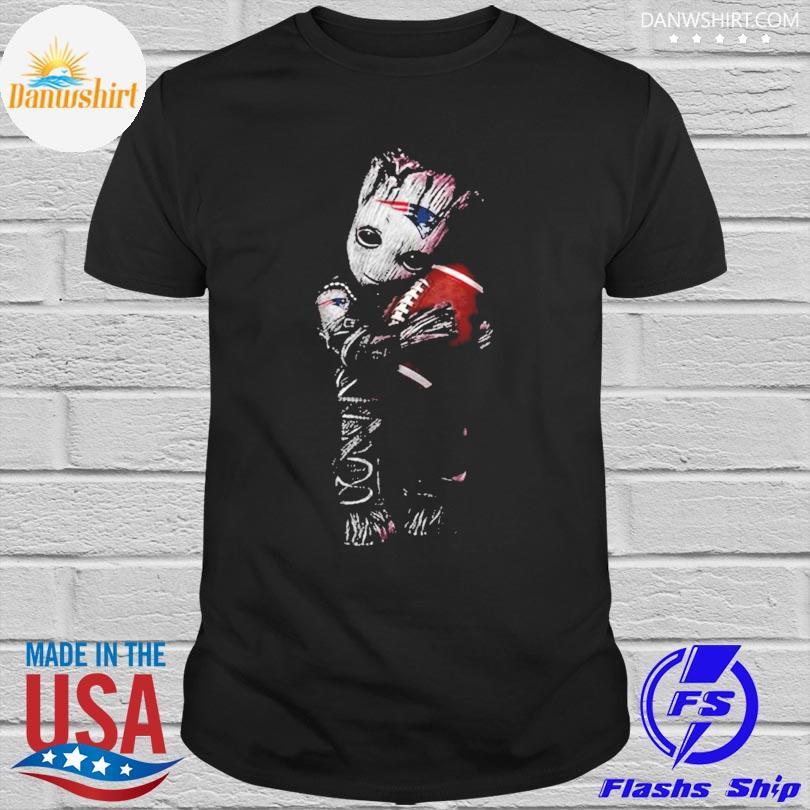 New England Patriots Baby Groot Loves New England Patriots Shirt