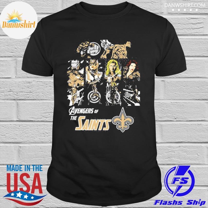 New Orleans Saints Avengers Dc Marvel Jersey Superhero Avenger shirt